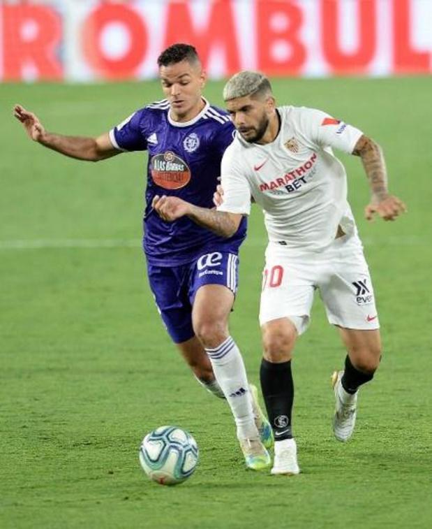 La Liga - Sevilla raakt niet voorbij Real Valladolid