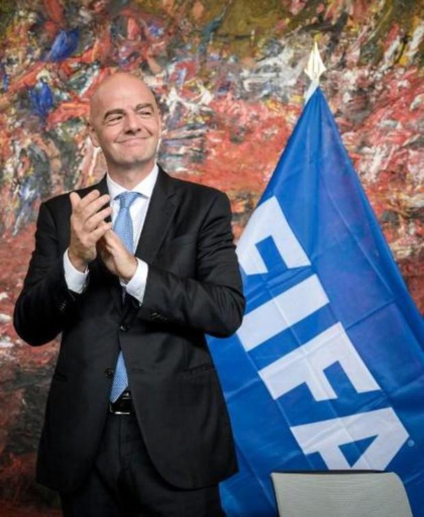 La Belgique conserve la tête au premier classement FIFA de l'année