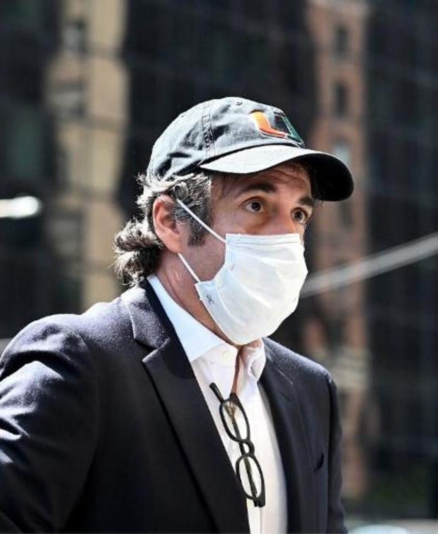 Michael Cohen, ex-avocat de Trump, placé en résidence surveillée