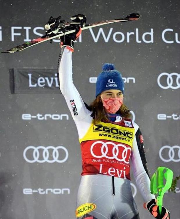 Petra Vlhova wint ook tweede slalom in Levi