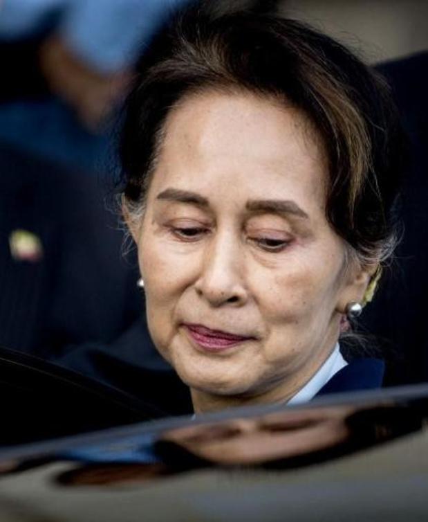 Europees parlement sluit Aung San Suu Kyi uit van Sacharov-gemeenschap