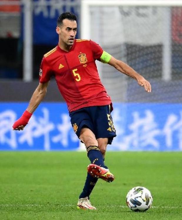"""""""Vital pour l'Espagne"""" selon Luis Enrique, Sergio Busquets est élu Joueur du Final Four"""