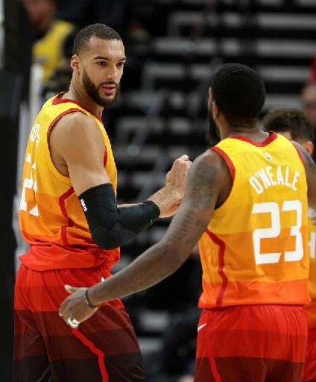 NBA : Utah reprend la tête à l'Ouest, Phoenix battu