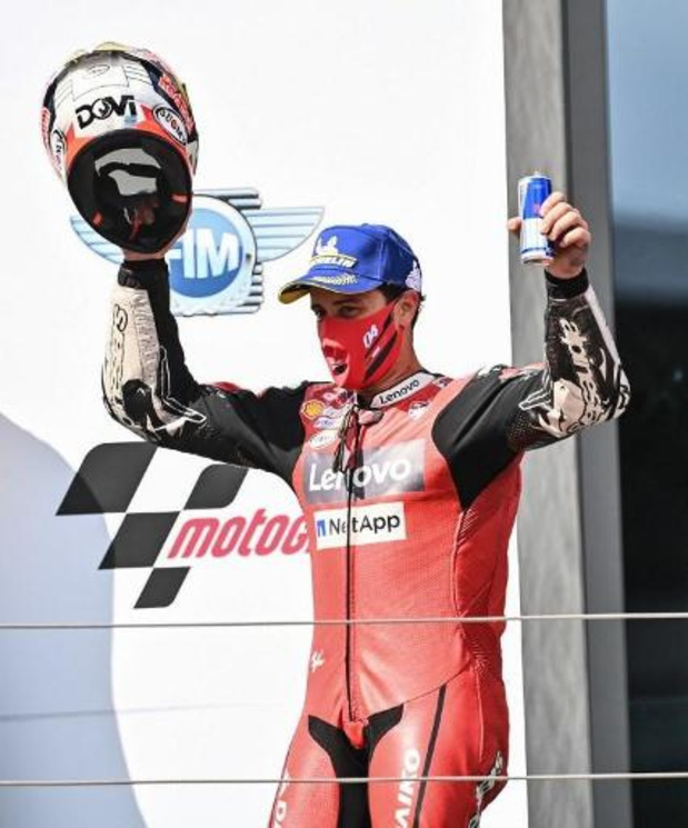 Andrea Dovizioso (Ducati) remporte sa première victoire de la saison au GP d'Autriche