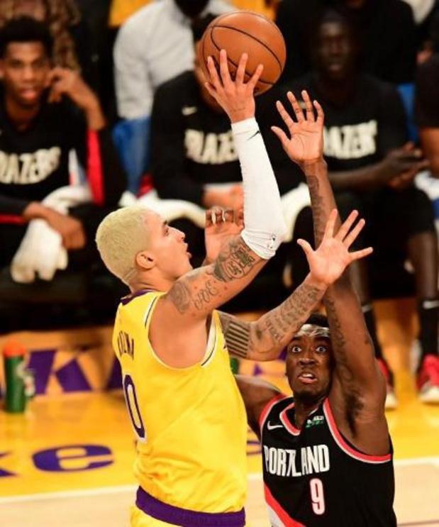 Lakers winnen dankzij driepunter in slotseconde