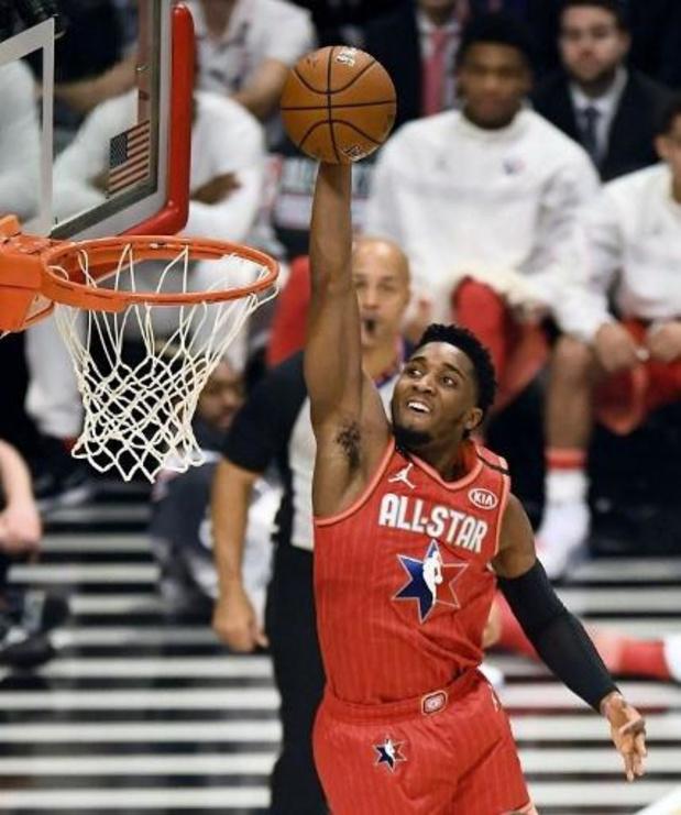 NBA-speler Donovan Mitchell (Utah) test positief