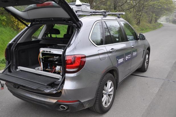 Imec opent testsite voor geconnecteerde wagens aan de E313