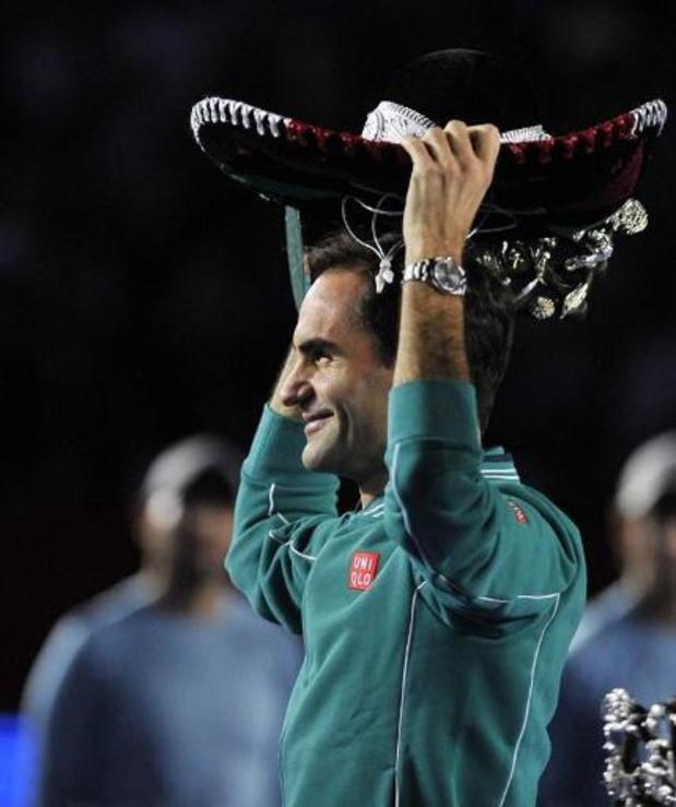 42.000 spectateurs pour une exhibition Federer-Zverev, c'est plus que pour Clijsters