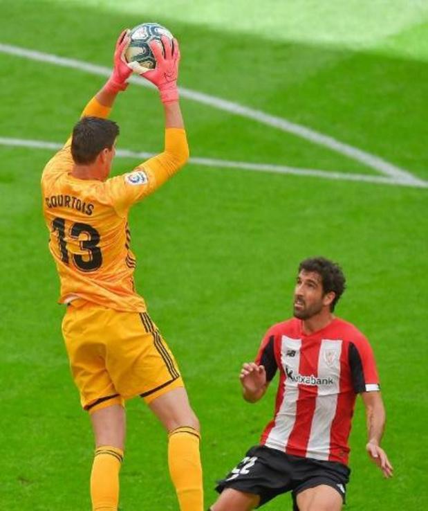 Quatrième clean sheet de suite pour Courtois, vainqueur à Bilbao avec le Real