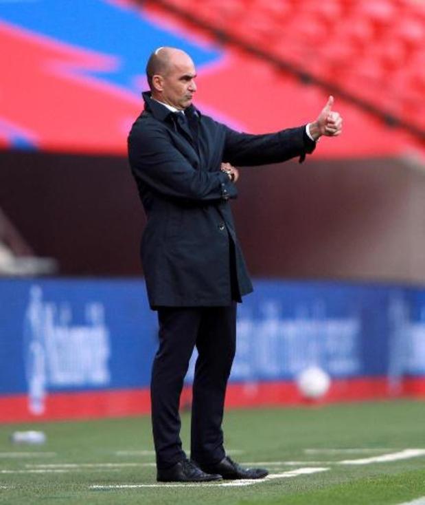 Roberto Martinez experimenteert ook tegen Zwitserland