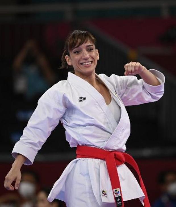 L'Espagnole Sandra Sanchez Jaime première championne olympique de karaté de l'histoire