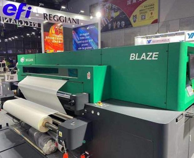 EFI lance une imprimante textile numérique d'entrée de gamme