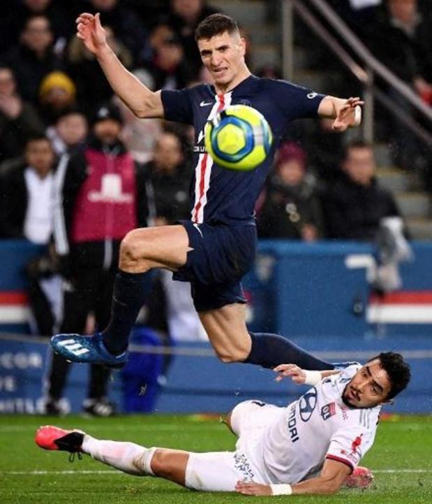 Les Belges à l'étranger - Thiago Silva et Cavani vont quitter le club, Meunier également sur le départ