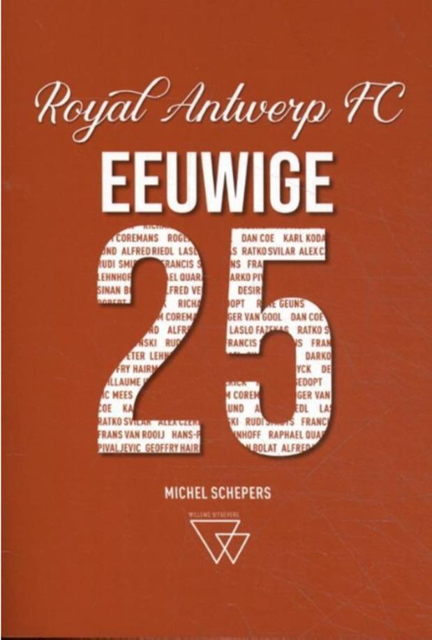 WIN het Antwerp-boek 'Eeuwige 25'