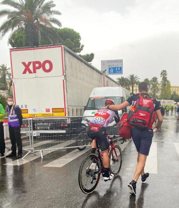 Tour de France - John Degenkolb (Lotto Soudal), hors délai et premier coureur à quitter la course
