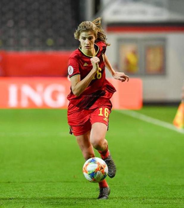 Jouer le Mondial 2027 à domicile, un rêve pour les Red Flames, selon Marie Minnaert