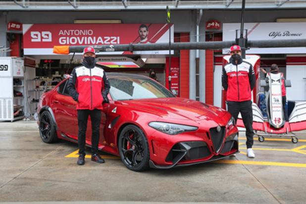 Alfa Romeo présente la Giulia GTAm