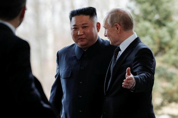 Premier sommet Kim-Poutine en pleine impasse sur le nucléaire