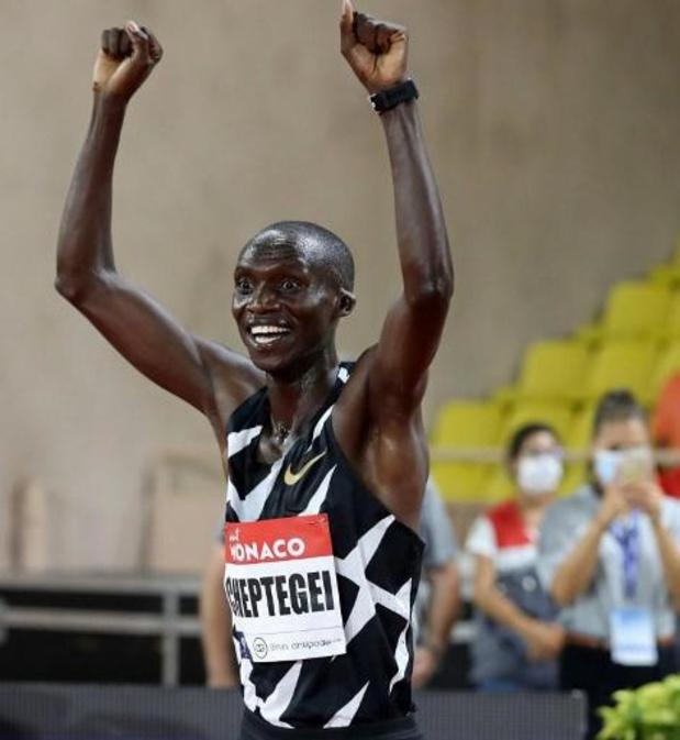 Ligue de diamant - L'Ougandais Joshua Cheptegei bat le record du monde du 5.000 m en 12:35.36