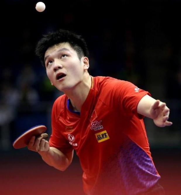 Coupe du monde de tennis de table - Quatrième titre pour le Chinois Fan Zehndong