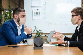 6 tips om succesvol te solliciteren met mondmasker