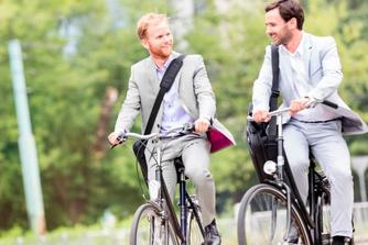 Vijf redenen om met de fiets naar het werk te gaan