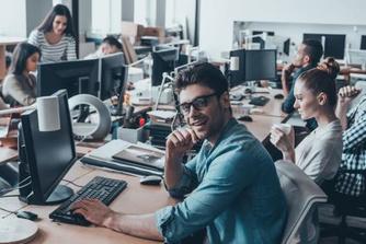 Het kantoorplan (2): de flexibele werkplek: de voor- en nadelen