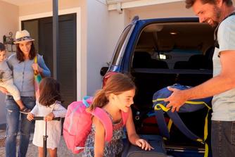 Mag je op reis gaan met je bedrijfswagen?