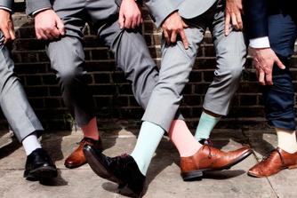 Als man op sollicitatiegesprek? Een professionele uitstraling begint bij je sokken!