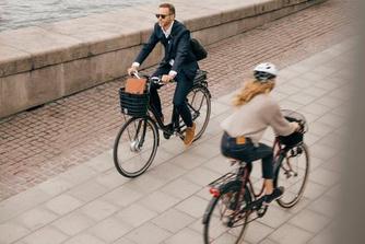 Steeds meer mensen kiezen de fiets voor woon-werkverkeer