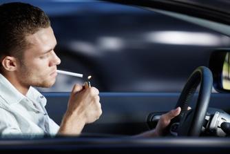 Mag je roken in je bedrijfswagen?