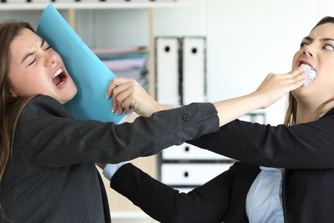 1 op de 9 werknemers ervaart agressie op het werk