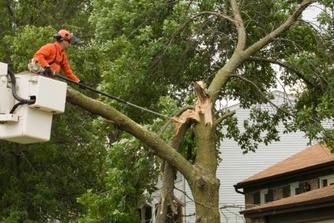 Drie manieren om thuis te blijven van het werk bij stormschade