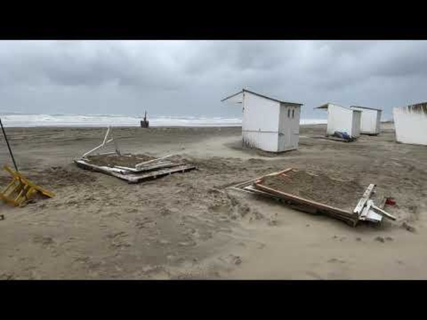 Storm Odette raast over ons land