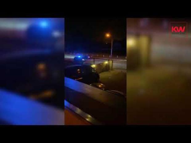 Man vlucht te voet weg bij politiecontrole