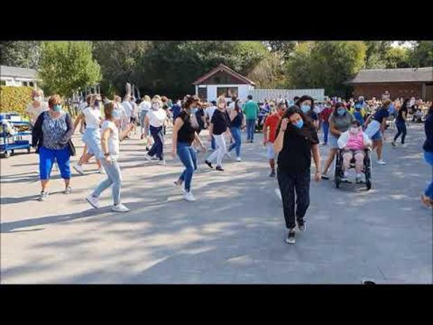Branding danst Jerusalema