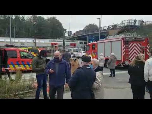 Honderden reizigers gestrand in station van Beernem na persoonsaanrijding