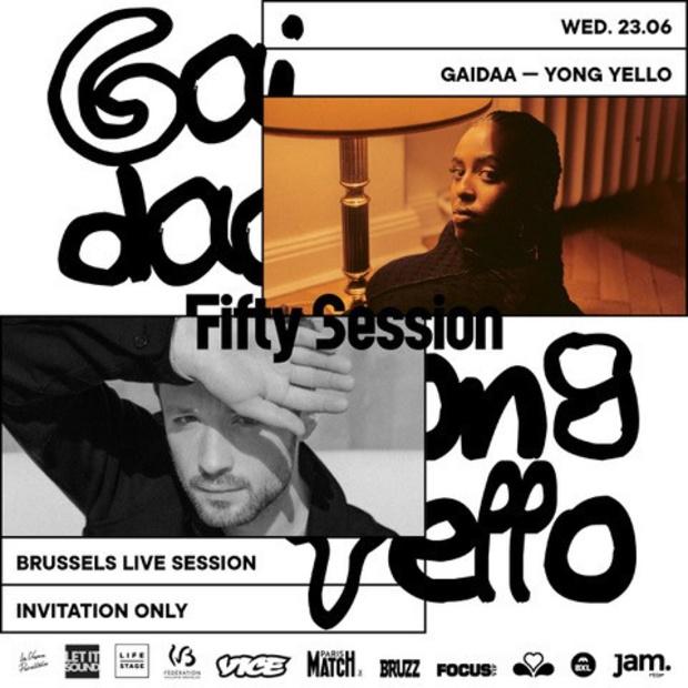 Gagnez un ticket duo pour la Fifty Summer Session du 23/06 : YONG YELLO & GAIDAA