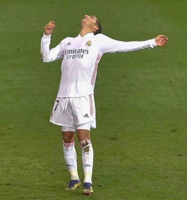 Belgen in het buitenland - Real Madrid tekent in Eibar voor vierde competitiezege op rij