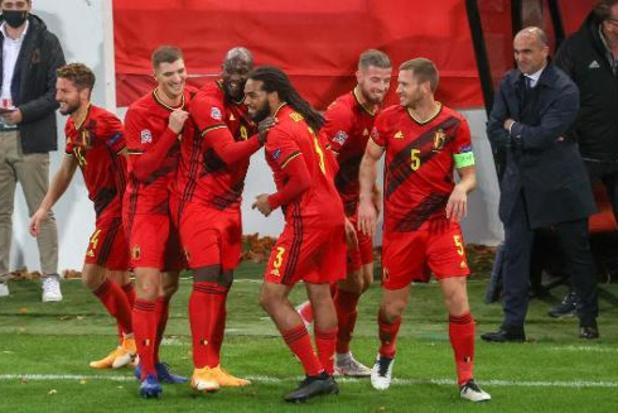 WK 2022: Rode Duivels komen terecht in poule met Wales, Tsjechië, Wit-Rusland en Estland