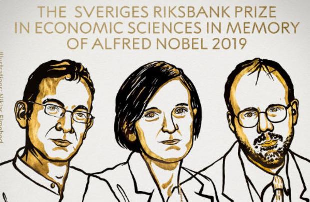 Nobelprijs Economie voor Abhijit Banerjee, Esther Duflo en Michael Kremer