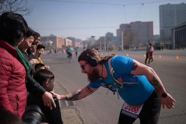 Les touristes étrangers retrouvent le chemin du marathon de Pyongyang