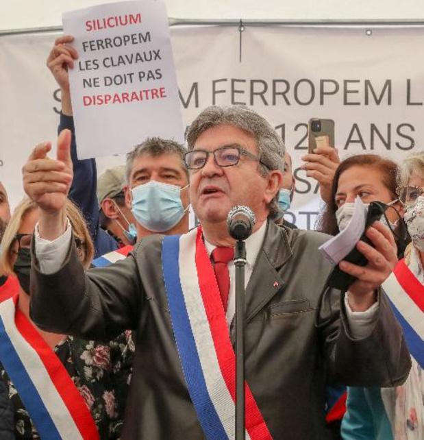 France: le tribun de la gauche radicale Mélenchon de plus en plus isolé