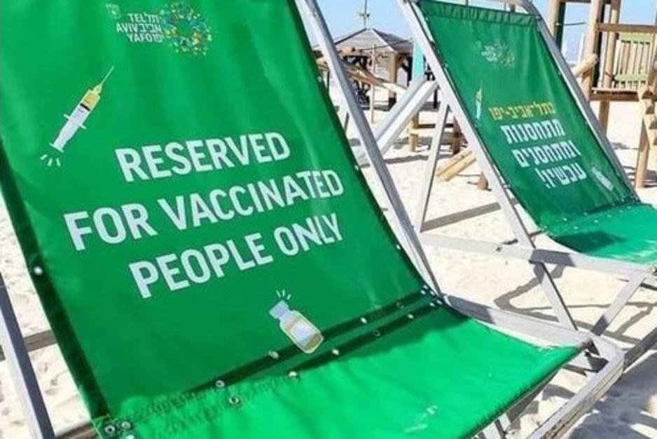 Factcheck: nee, u ziet geen strandstoelen die 'gereserveerd zijn voor gevaccineerden'