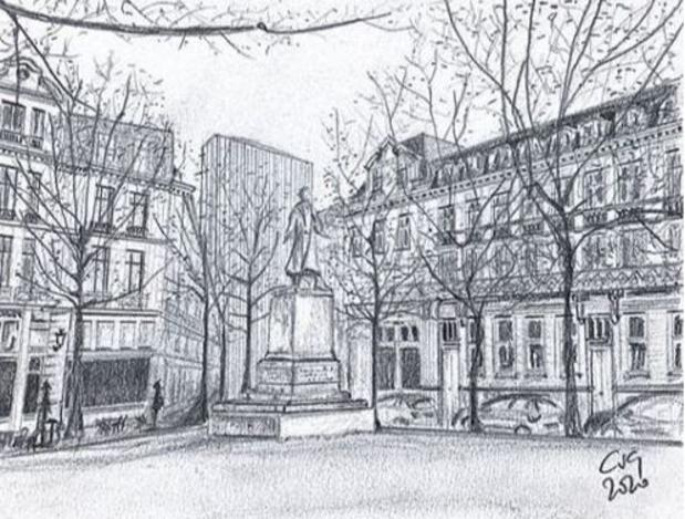 Bruxelles en dessins : la capitale comme vous ne l'avez jamais vue