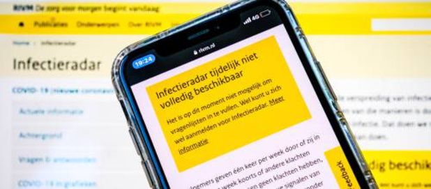Nederlandse corona-'Infectieradar' gedeeltelijk offline na datalek