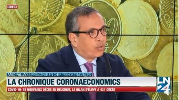 CoronaEconomics: 25.000 milliards de perte sur les marchés, comment l'expliquer? (vidéo)
