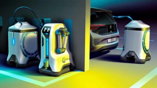 Robots moeten laadpalen vervangen in parkeergarage