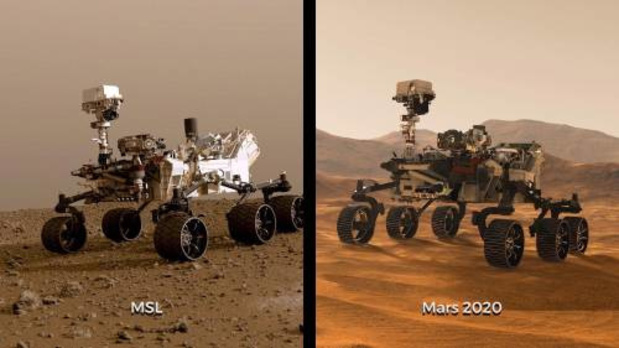 NASA bestuurt vanuit huis een karretje op Mars