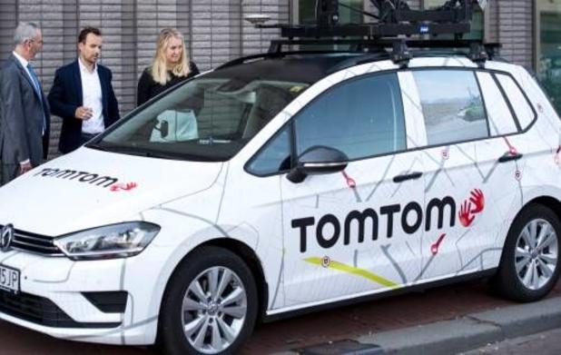 TomTom lanceert zelfrijdende testauto